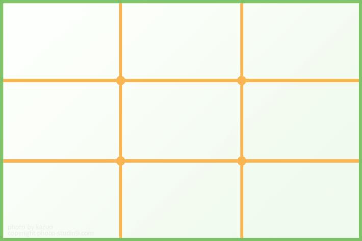 三分割構図 構図