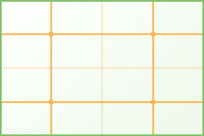 四分割構図 構図