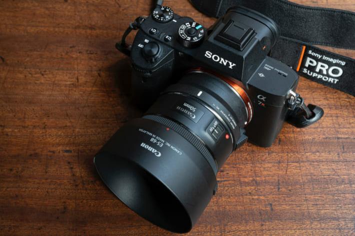 α7RⅢ+EF50mm