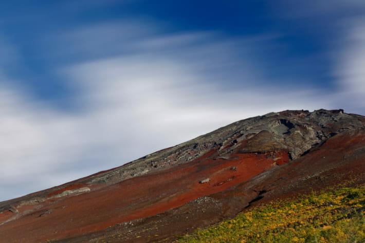 富士山五合目スローシャッター