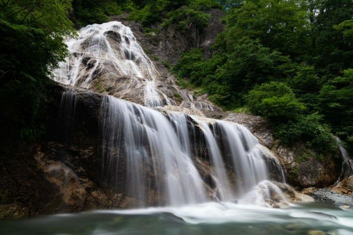 姥ヶ滝スローシャッター