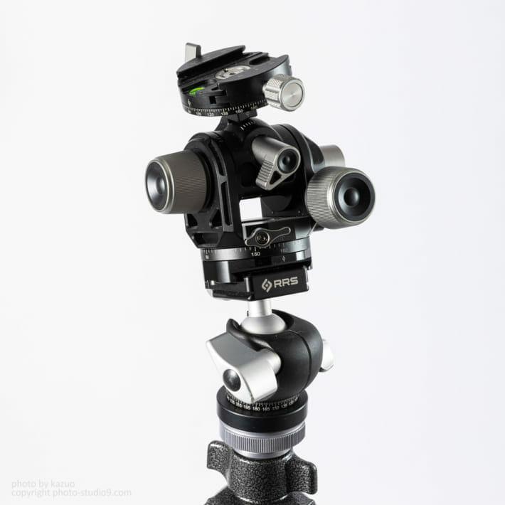 RRS BH-30にLeofoto G4