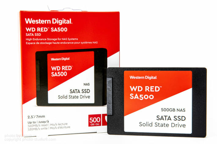 WD Red SSD