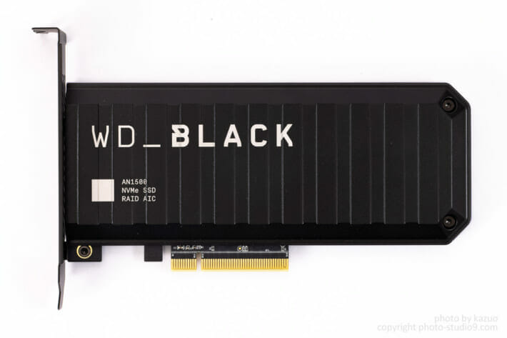WD_BLACK AN1500 レビュー
