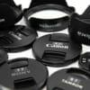 レンズフードやキャップのどれだか分からない問題はテプラを使うと便利!【P-TOUCH】