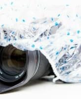 【梅雨直前!】実質20円以下で作る、最強のカメラ用レインカバー!